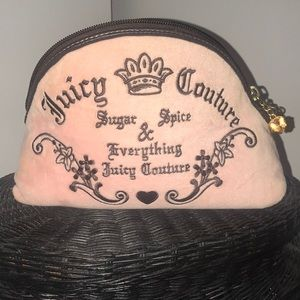 authentic juicy couture makeup bag!